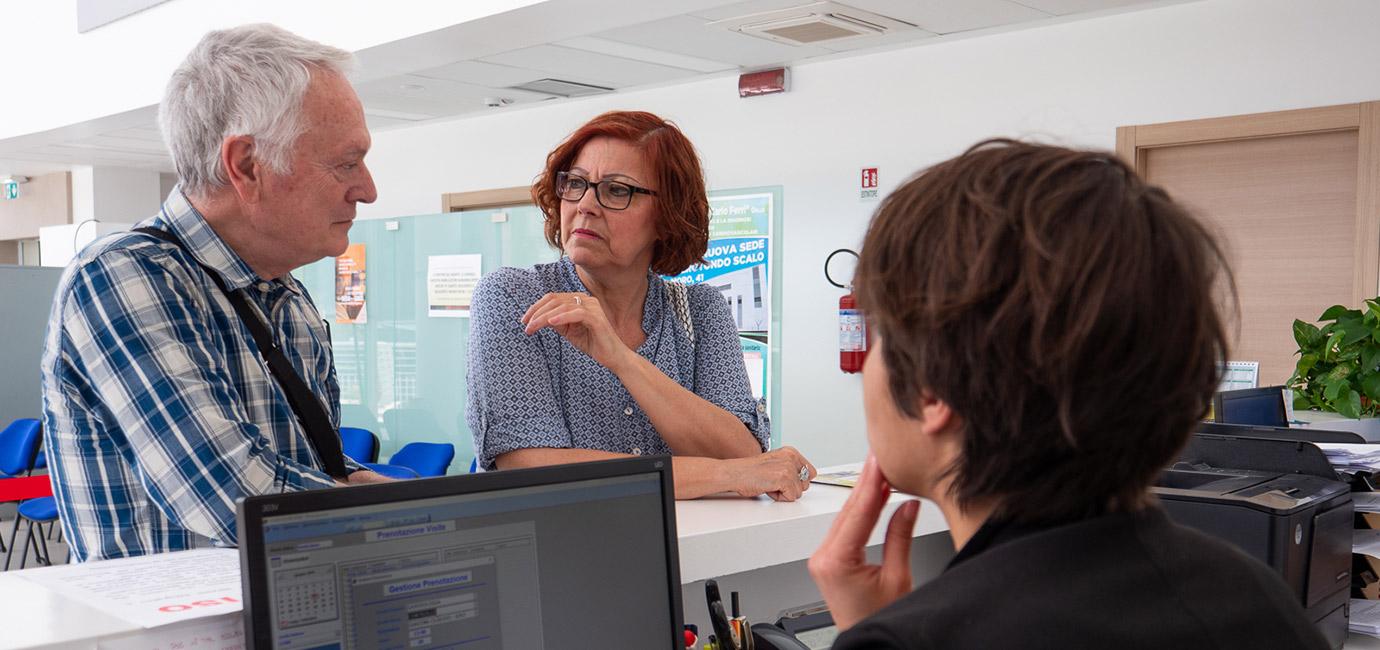 receptionist fondazione carlo ferri