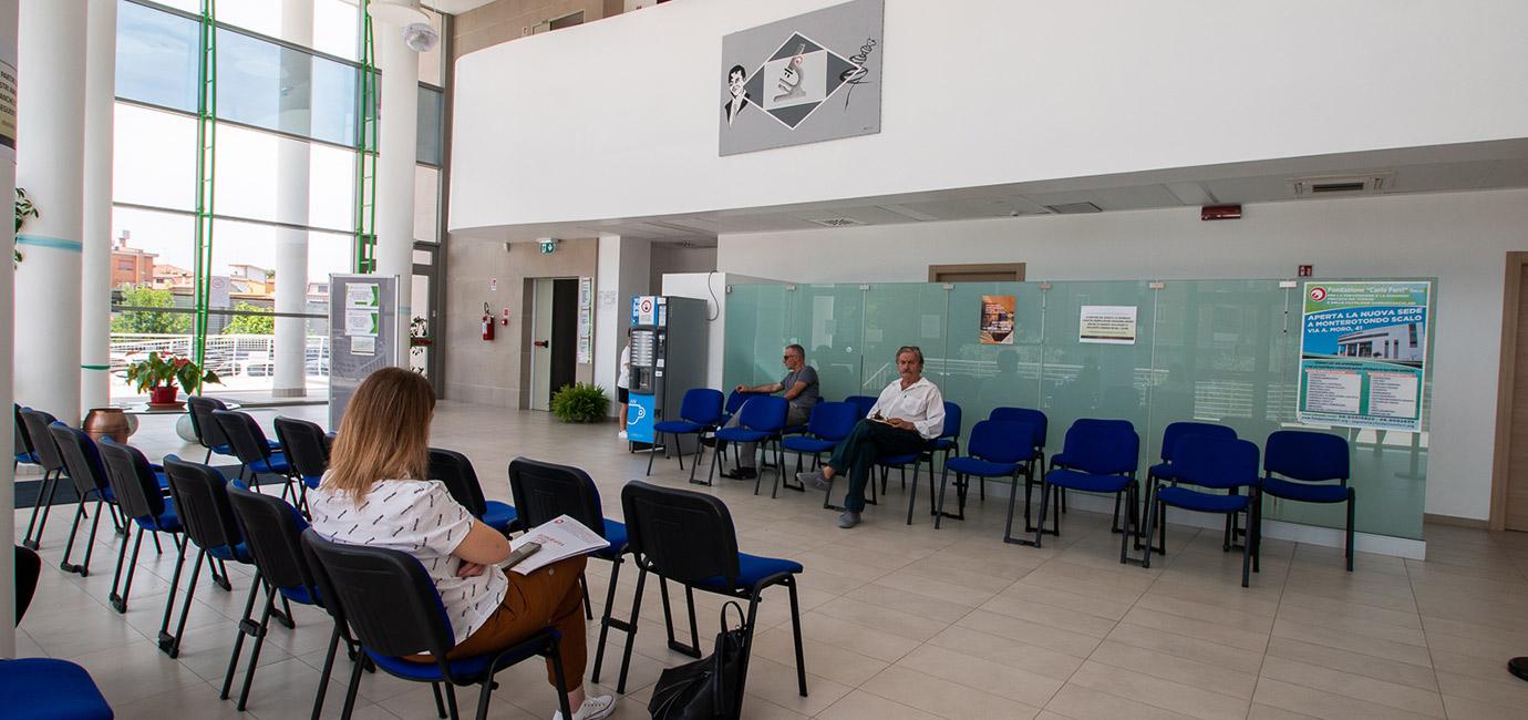 sala d'attesa fondazione carlo ferri