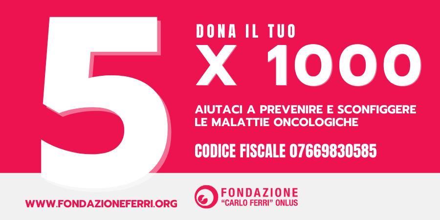 5x1000 fondazione ferri